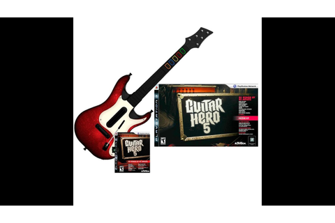 PlayStation 3 - Guitar Hero 5 Unboxing - YouTube
