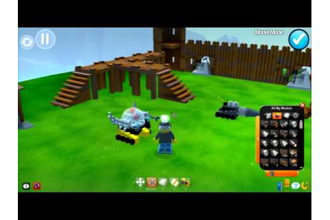 LEGO Universe - PC - E3 2010 Build B-roll gameplay footage ...