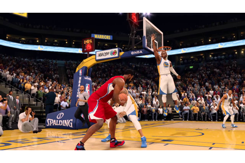 NBA LIVE 16 most realistic basketball game - YouTube