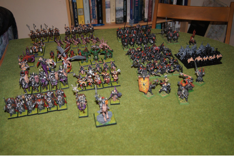 Keith's Tabletop Gaming / Painting Blog: Army Focus ...