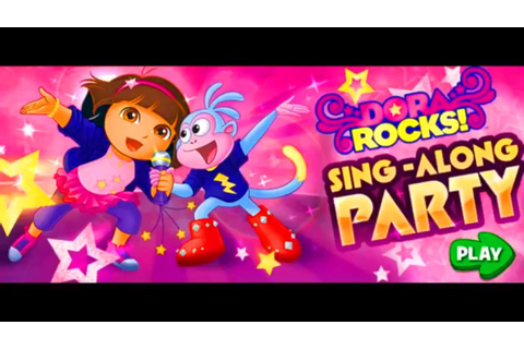 Dora The Explorer: Rocks Sing-Along Party Game - YouTube