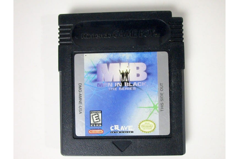 Men in Black the Series game for GameBoy Color (Loose ...