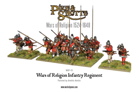 Wars of Religion Infantry Regiment - Warlord Games