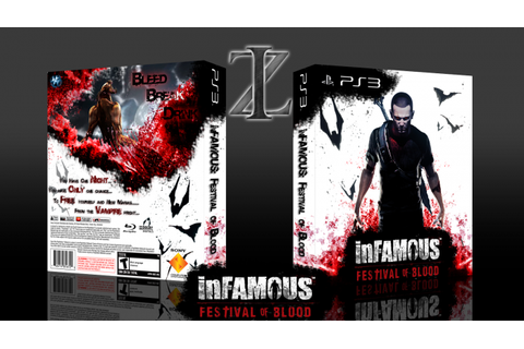 inFamous: Festival of Blood PlayStation 3 Box Art Cover by ...