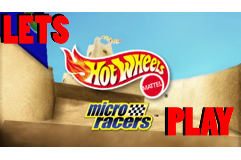 Let's Play... Hot Wheels Micro Racers PC Game - YouTube