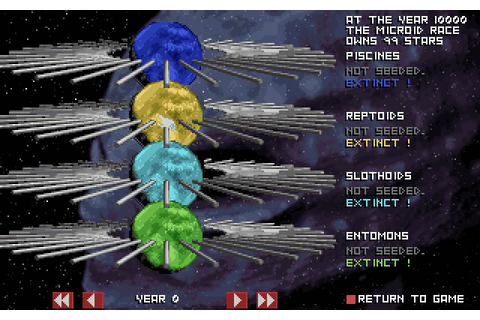 Millennia: Altered Destinies vehicle simulation for DOS ...
