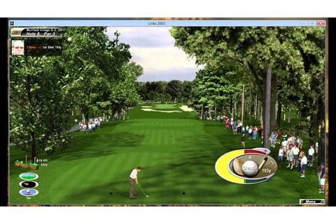 A round of golf at Muirfield Village (Links 2003) - YouTube