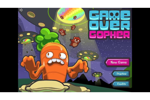 Math Snacks - Game Over Gopher Gameplay - YouTube