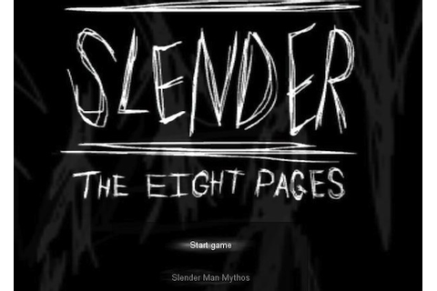 Slender: The Eight Pages | Gamer Girl Reviews