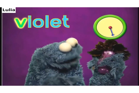 sesame street letter v game show - YouTube