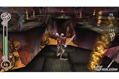 PSP GAME: Medievil resurrection