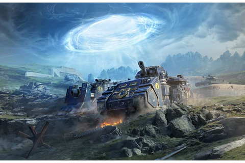 Unleash the fury of the Space Marines in World of Tanks ...