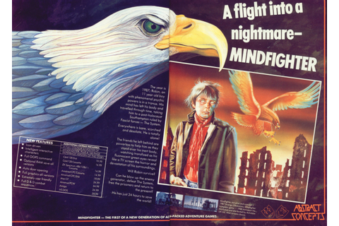 Video Game Print Ads — retrocgads: UK 1988 'Mindfighter ...
