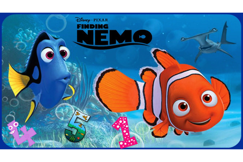 Disney Finding Nemo ♡ Learn Numbers Educational Game App ...