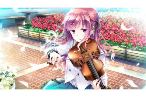 ensemble (company) flowers game cg instrument leaves ...