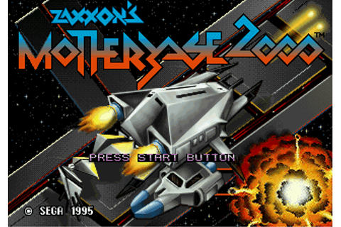 Play Zaxxon's Motherbase 2000 Sega 32X online | Play retro ...