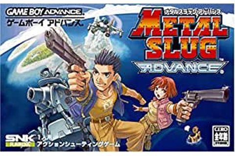 Amazon.com: Metal Slug Advance: Game Boy Advance: Video Games