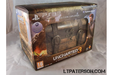 Déballage édition Explorer Uncharted 3: L'Illusion de ...