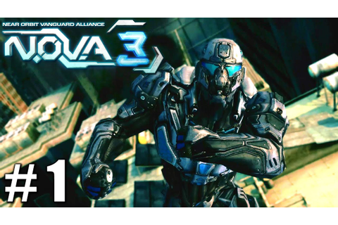 N.O.V.A. 3 - Near Orbit Vanguard Alliance - Gameplay ...