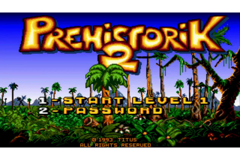 Gameplay Prehistorik 2 (PC game 1993) | Descargar juego ...
