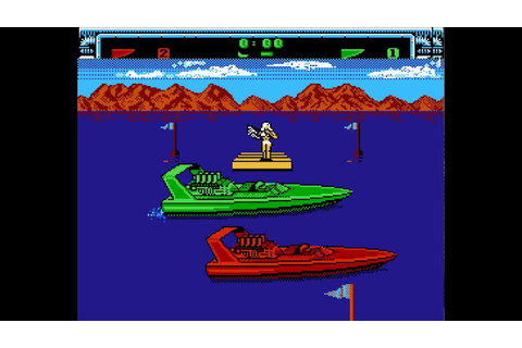 Eliminator Boat Duel Walkthrough NES HD 1080p - YouTube