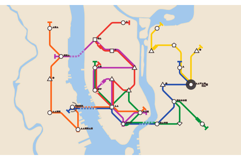 "Build Your Own Subway System with ""Mini Metro"" Game ..."
