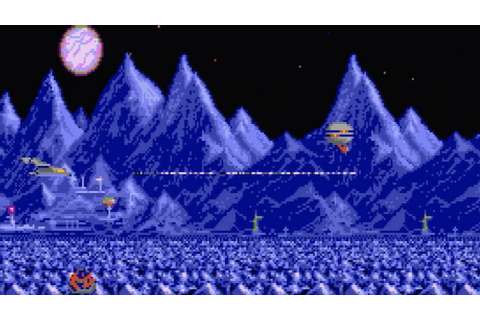 StarRay - [Atari ST] Gameplay showing up to level 6 (1988 ...