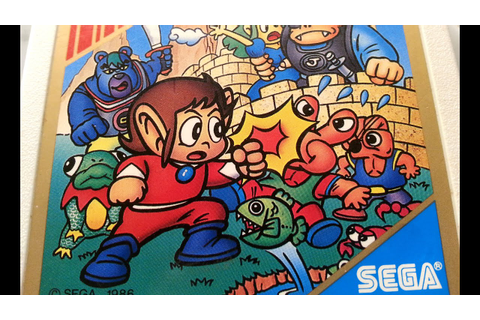 Classic Game Room - ALEX KIDD IN MIRACLE WORLD review for ...