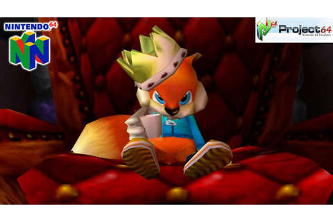 Conker's Bad Fur Day - Gameplay Nintendo 64 1080p (Project ...