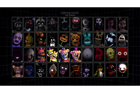 Ultimate Custom Night: Fan Edition! (All character ...