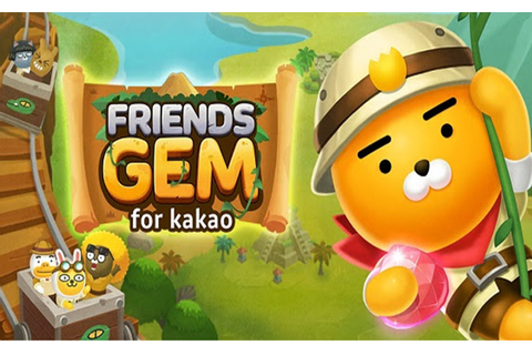 Kakao Games launches 'Friends Gem for Kakao' on mobile devices