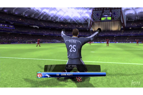 UEFA Champions League 2006-2007 Xbox 360 Gameplay - Curved ...