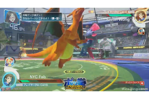 Pokken Tournament - 35 Minutes Gameplay ( Pokemon World ...