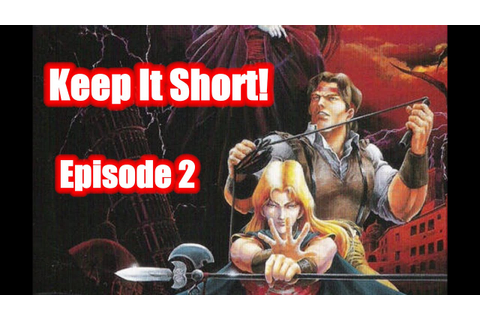 Keep It Short - Castlevania: The New Generation REVIEW ...