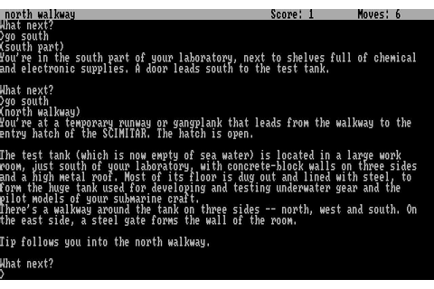 Seastalker Download (1984 Adventure Game)