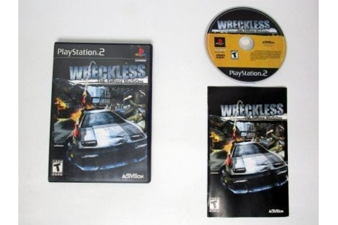 Wreckless Yakuza Missions game for Playstation 2 (Complete ...