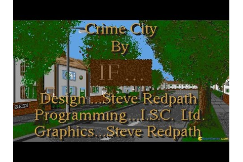 Crime City gameplay (PC Game, 1992) - YouTube
