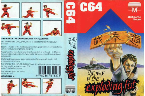 The Way of the Exploding Fist - C64-Wiki