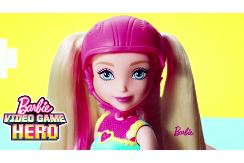 Barbie ™ Video Game Hero Light-up Skates Doll and Match ...