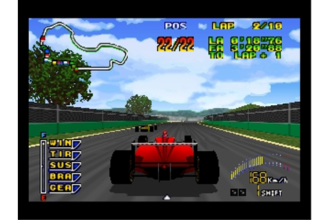 F1 Pole Position 64 (USA) (En,Fr,De) ROM