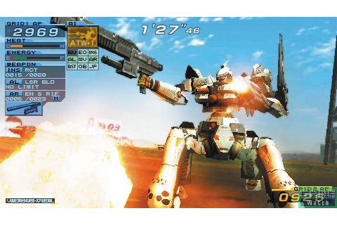 Armored Core: Formula Front (2005) by From Software PSP game