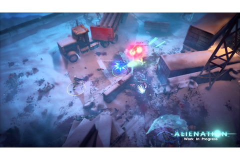Alienation - Pre Alpha Gameplay - 1080p 60 fps - PS4 - YouTube