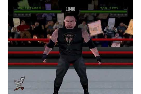 WWF Attitude (PLAYSTATION) with SOUND - YouTube