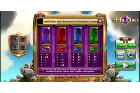 Holy Diver Slot Game - Big Time Gaming - Review & Rating