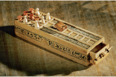 One of four board games found buried with King Tut, 3,000 ...