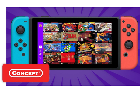 Introducing SNES Games On Nintendo Switch Online ...