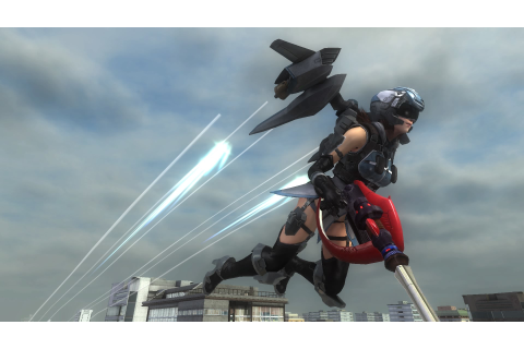 EARTH DEFENSE FORCE 5 - Wing Diver Support Device Reverse ...