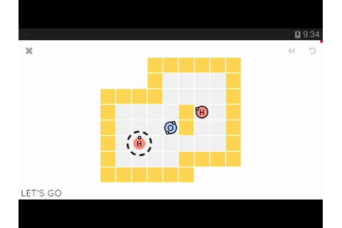 Sokobond (by Draknek) - puzzle game for android - gameplay ...