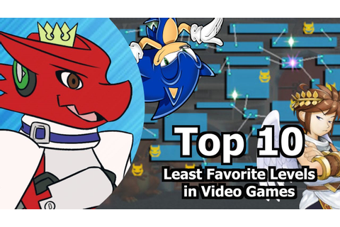 Top 10 Least Favorite Levels in Video Games - YouTube