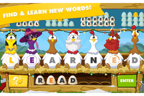 Chicktionary - Scrambled Words APK Download - Free Word ...